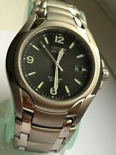 Citizen Gents Eco Drive Very Rare GN-4W-S WR 100 Titanium Watch