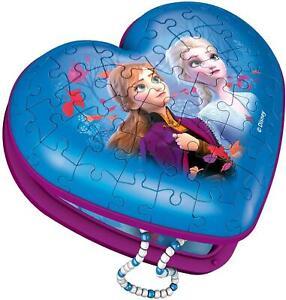 Ravensburger Frozen 2, Heart Shaped 3D Puzzle, 54 Pieces