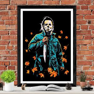 Halloween Michael Myers Horror Movie Poster Print