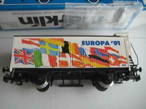 Marklin H0 4680-91712 EUROPA'91 Wagen w/brakeman's cab in its original box LNIB
