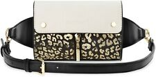 Damen Gürteltasche Hüfttasche Nierentasche iPhone Smartphone Handy schwarz beige