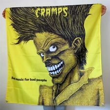 The Cramps Banner Bad Music For Bad People Album Cover Tapestry Flag Poster 4x4