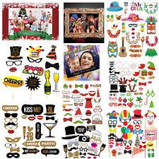Weihnachten Fotostand Requisiten Holzrahmen Neues Jahr Hochzeit-Geburtstag