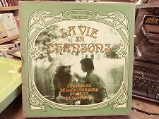 la vie en chansons - le livre de paris hachette - 96 plus belles chansons d'hier