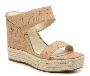 Jessica Simpson Saphita Espadrille Wedge Sandal, Multi Sizes Tan Cork JS-SAPHITA