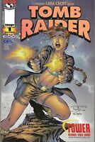 TOMB RAIDER  #1   GOLD FOIL  FPLUS TO NM    IMAGE COMICS   HOT COVER