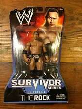 WWE SURVIVOR Series HERITAGE Collection THE ROCK 6 inch action figure NEW