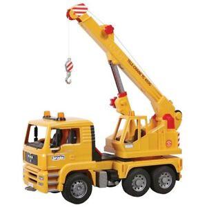 Bruder MAN TGA CRANE TRUCK Collection Toy Car Model 1/16 1:16