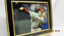 ROY HALLADAY Signed Framed 8x10 Photo #3 Display with COA, Philadelphia Phillies