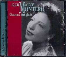 CHANSONS A MON PLAISIR - MONTERO GERMAINE (CD NEUF)