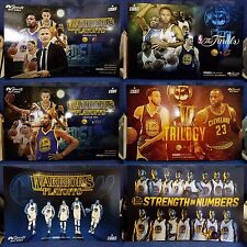 Golden State Warriors 2017 NBA Playoffs All 6 Cheer Cards BRAND NEW