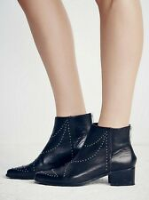 FREE PEOPLE Ankle Boot Vision To See  Bootie Studded Leather Western Size 7 $218