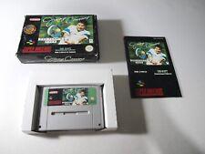 Jimmy Connors Pro Tennis Tour Complet Super Nintendo