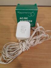 Dept 56 Light Accessory - AC/DC Adapter #56.55026 White