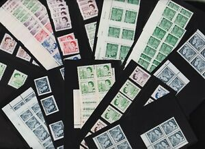 Canada - Specialist's Hoard MNH Definitives - see 4 scans