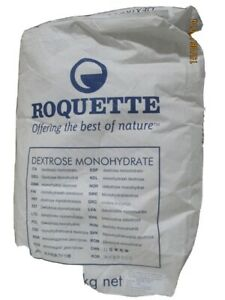 25kg Pure Dextrose Monohydrate Powder Roquette **PARCELFORCE24**