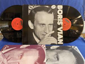 BORIS VIAN BOUREO BOURBON 2LP 48885/6 CANETTI ORIGINAL FRANCE LP NEAR MINT