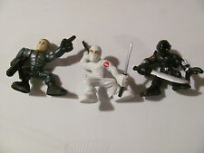 G I Joe movie Combat Heroes Duke Storm Shadow Snake Eyes LOOSE