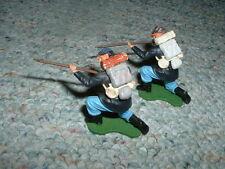 Britains 54mm 1/32 Old Swoppet Swoppit Union kneeling  firing x2