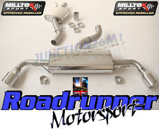 Milltek Audi TT MK2 3.2 V6 Exhaust CAT BACK Resonated SSXAU146 Dual jet 100 mm