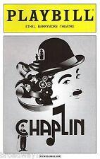 "Rob McClure ""CHAPLIN"" Jenn Colella / Christiane Noll 2012 Opening Night Playbill"