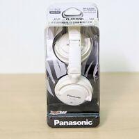 Panasonic RP-DJS200 Wired Lightweight DJ-Style Headphones White - Brand new