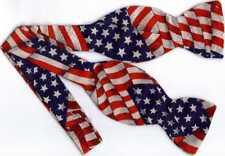 American Flag Bow tie / Self-tie Bow tie / USA Flag / Stars & Stripes Forever