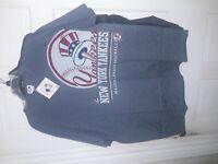 New York Yankees submariner style shirt MLB NY Yankee baseball T-Shirt NEW - 2XL