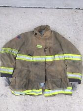 Firefighter Globe Turnout Bunker Coat 50x35 G Xtreme No Cut Out 2010