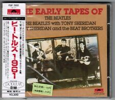Sealed THE BEATLES w/Tony Sheridan ‎The Early Tape JAPAN CD P33P-25032 w/OBI
