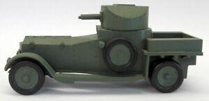 Unbranded White Metal 25OCT17A WW1 Rolls Royce Tank Armoured Car  Model