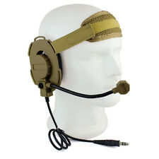 Yellow HD03 Z Tactical Bowman Elite II Headset Earpiece PPT for Kenwood Best ES