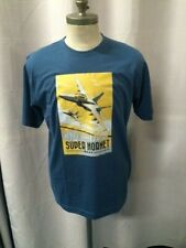 Boeing F/A-18 F Super Hornet RAAF - T-Shirt - Blue