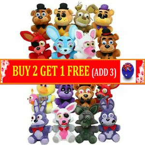 Five Nights at Freddy's FNAF Horror Game Kid Plushie Toy Plush Dolls Gift Top AU