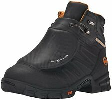 Timberland PRO Mens Excave External Met Guard Work Boot Black Leather 10 M