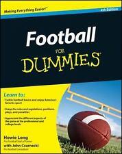 Football for Dummies, Czarnecki, John, Long, Howie, Good Book