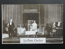 LES TROIS CLOCHES c1917 Postcard by J. Richardson of Wade Lane, Leeds