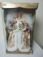 """19"""" CHRISTMAS LOVE Luxurous Glenhaven Table ANGEL Sold for $45 New Ships FREE"""