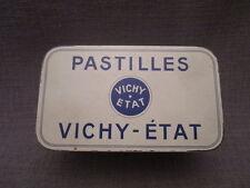 """belle boite en tôle publicitaire ancienne""""pastilles VICHY"""""""