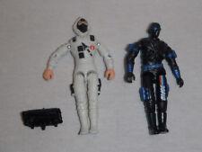 Vintage GI Joe American Hero Storm-Shadow v6 and Snake-Eyes v9 Figure Lot