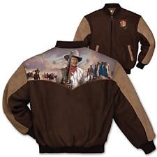 Bradford Exchange Duke John Wayne Men's Twill Varsity-Style Jacket Size: XXL