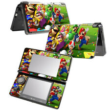 Super Mario Party 8 Vinyl Decal Skin Sticker Cover set  for NINTENDO 3DS Console