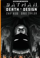 ADVANCE UNCORRECTED COPY BATMAN Death by Design Chip Kidd GRAPHIC NOVEL TPB
