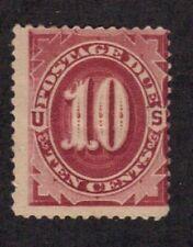 Scott # J19 beautiful postage due mint OG hinged catalog value $600