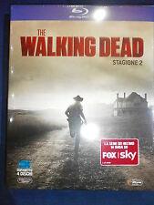 THE WALKING DEAD LA 2° STAGIONE COMPLETA COFANETTO IN BLU-RAY NUOVO DA NEGOZIO!!