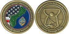COMMANDER JOINT REGION MARIANAS  GUAM  LIBERTY THROUGH UNITY Challenge Coin