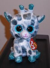 """Ty Beanie Boos ~ GIA the Giraffe 6"""" (Claire's Exclusive) NEW MWMT ~ IN HAND"""