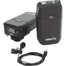 Rode RODELink Filmmaker Kit Digital Camera-Mount Wireless Omni Lavalier NEW