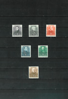 Austria Scott B93-98 Complete Set of Six Stamps Mint Hinged OG F/VF 1931