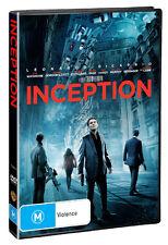 INCEPTION - BRAND NEW & SEALED REGION 4 DVD (LEONARDO DICAPRIO, ELLEN PAGE)